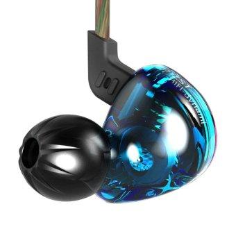 KZ ZST Balanced Armature Dynamic HIFI In-Ear Sport Earphone - Violet - intl - 4