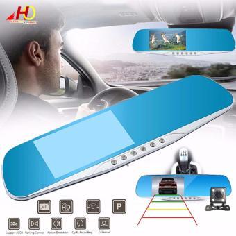 L703 4.3 inch Full HD 1080P Display Vehicle Black BoxHigh-definition Dual-lens Rear View Mirror Car Camera - 5