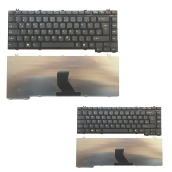 Laptop Keyboard for Toshiba Satellite A100/A105 Set of 2