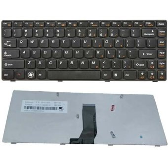 Laptop Keyboard suited for Lenovo IdeaPad Z370 Z470 Z475 (Black)