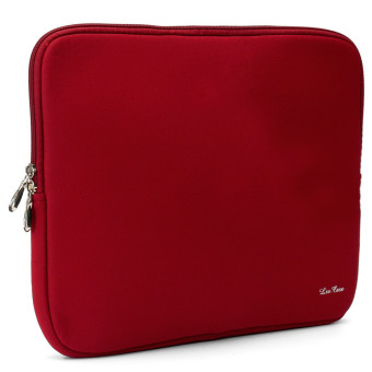 Laptop Soft Bag Sleeve Pouch for Apple 14 Macbook Pro/Air Notebook Red