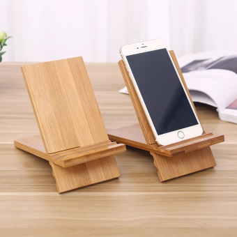 Lazy wood to watch TV tablet computer support phone base