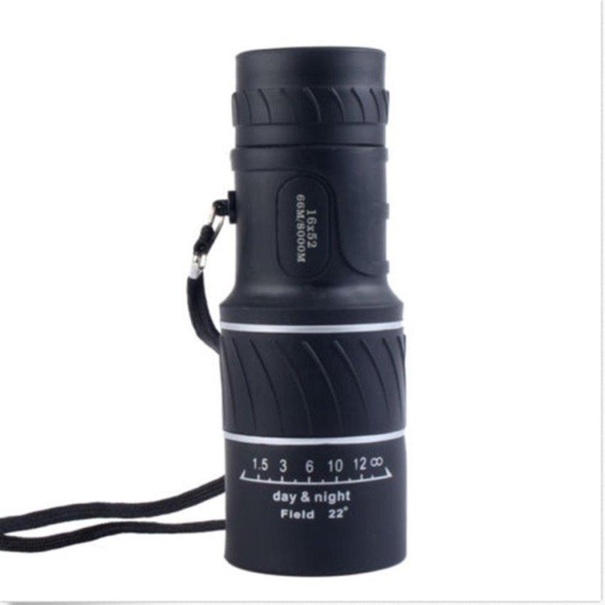 LC 16x52 Waterproof Night Vision Optics Zoom Lens MonocularTelescope for Camping Hiking Hunting - intl - 2