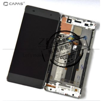 LCD Digitizer Display with Frame for Sony Xperia XA F3111 F3113F3115 Complete Touch Screen Display LCD Panel Repair Spare Parts -intl