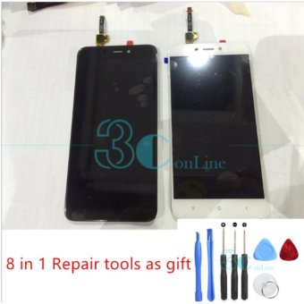 LCD Display Digitizer Complete LCD Touch Screen Panel Assembly Replacement Spare Parts for Xiaomi Redmi 4X 5.0 inch - intl