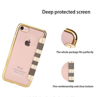 Leather Flip Case Cover Card Slots Stand Holster For Samsung GalaxyJ2 Prime (checker3) - 2