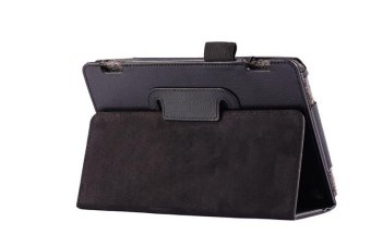Leather Folio Stand Cover Case For Amazon Kindle Fire HDX 7 InchBlack - intl - 4