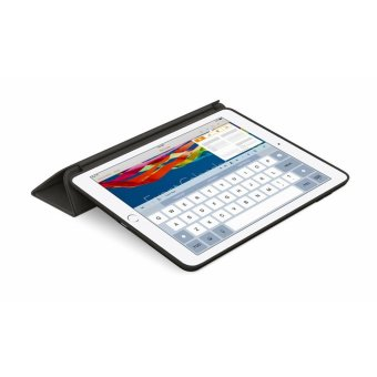 Leather Smart Case For Apple iPad Mini 1/2/3 (Black) - 5