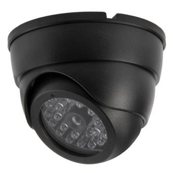 LED Flashing Dome Security Camera Surveillance Waterproof Black Price Philippines