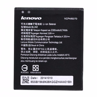 LENOVO A6000 BL242 2300mAh BATTERY FOR Lenovo A6000 (Original /Authentic)