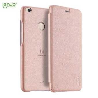 Lenuo Leather case for Xiaomi Mi Max 2 flip Soft Case Ultra thinphone bag Back Cover for Xiaomi Mi Max 2 mobile shell - intl