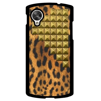 Leopard Print Pattern Phone Case for LG Nexus 5 (Multicolor)