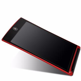 LHR HSP85 Ultra-thin One Button Erase 8.5 inch LCD Writing Tablet (Red)
