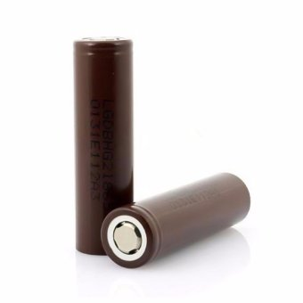 LHR Li-ion 18650 3000mAh 3.7V Battery For Electronic Cigarette (Brown) Set of 2 - 5
