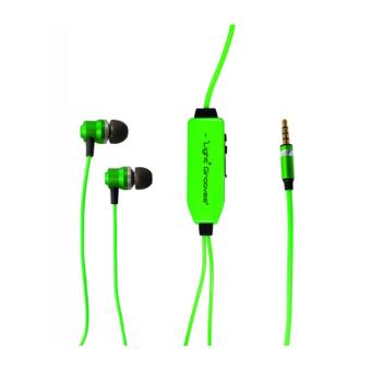 LightGrooves EP-101 In-Ear Headphones (Green)