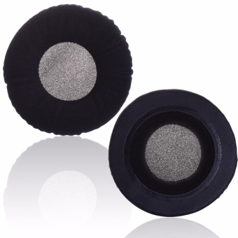 Lightning Power-1 Pair Black Color Velvet Replacement Earpad Ear Pad Cushion for AKG K 240 Studio Headphones(Black) - intl