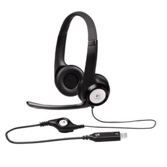 Logitech H390 Stereo Headset USB with Noise Cancelling Microphone
