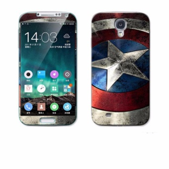 Luxury 3D Painting Front+Back Full Case Cover Color Tempered Glass Case For Samsung Galaxy S4 I9508 I9500 5.0 inch Screen Protector Film (Color-24) - intl
