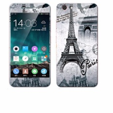 Luxury 3D Painting Front+Back Full Case Cover Color Tempered Glass Case For Vivo Y53