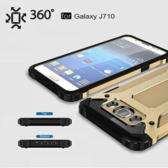 Luxury Double Protective Case Metal Cover for Samsung Galaxy J7 2016 - intl - 5
