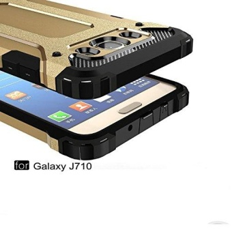 Luxury Double Protective Case Metal Cover for Samsung Galaxy J7 2016 - intl - 3