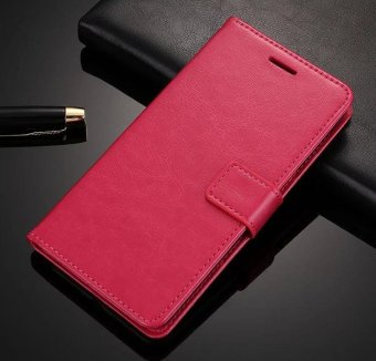 Luxury Flip leather Wallet Case For OPPO A37 With stand holder -intl