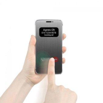 Luxury Flip Smart Case Cover Skin For LG G5 Silver - intl - 5