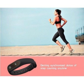 M2 Wristband Heart Rate Monitor Smart Watch Sports Reminder SmartBracelet For IOS And Android - intl - 5