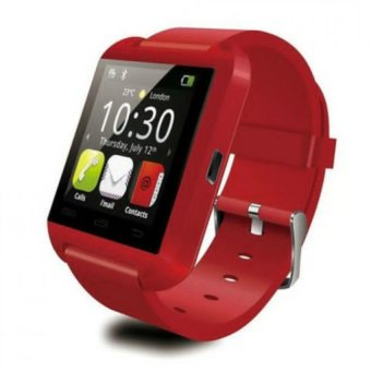 M8 Bluetooth Touchscreen Smart Watch (Red)