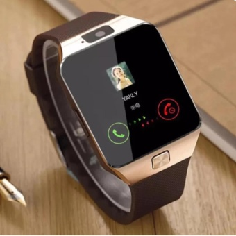 M99 Quad Bluetooth Touch Screen Smart Watch (Gold)