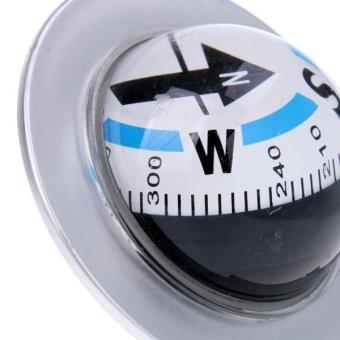 MagiDeal Flexible Dashboard Car Compass Ball 360 Degree RotateVehicle Navigation - intl - 2