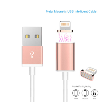 Magnetic Charger Cable 2A usb Adapter For iPhone 5S 5C 6 6S Plus iPad 4 5 Air Mini 3 iPod 5 Magnet Charging Sync