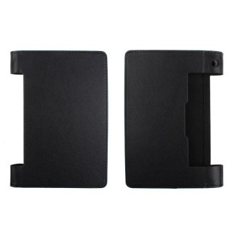 Magnetic Flip Leather Cover Case Holder For Lenovo Yoga 8 B6000 Tablet Black - intl