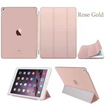 Magnetic Slim Leather Smart Cover Hard Back Case For Apple iPad mini 1 2 3 - intl