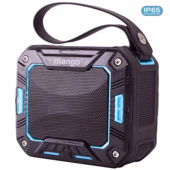 Mango(R) Portable Bluetooth Speaker IP65 (Blue) Waterproof for Shower Bathroom / Outdoor Activities