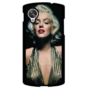 Marilyn Monroe Pattern Phone Case for LG Nexus 5 (Black)