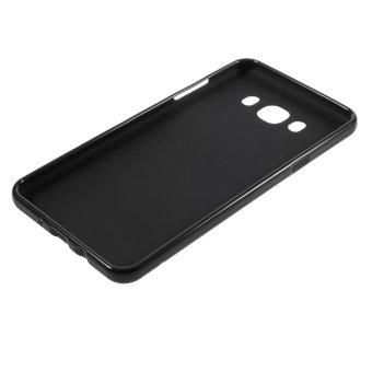 Matte Gel TPU Case for Samsung Galaxy J7 2016 (Black) - intl - 5