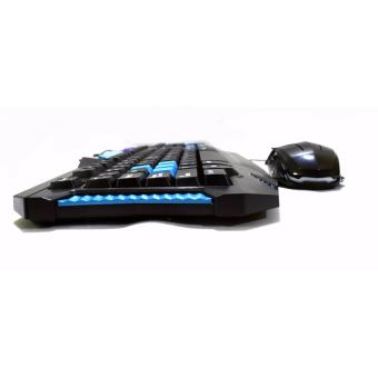 Mechanical Gaming Keyboard PS/2 Type with Free usb gaming mouse - 3