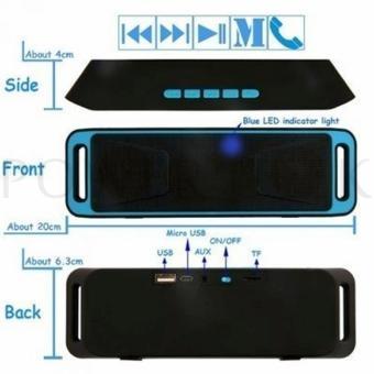 Megabass A2Dp Stereo Wireless Bluetooth Dual Speaker - 3