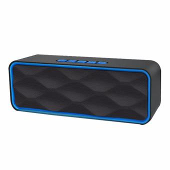 Megabass LC-209 A2DP Bluetooth Wireless Stereo Speaker (Blue)