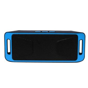 Megabass SC308 A2DP Bluetooth Wireless Stereo Speaker (Blue)