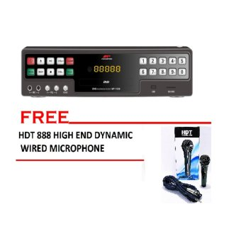 Megapro MP-1000 Karaoke Player (Black) with dynamic hi-end pro hdtmicrophone