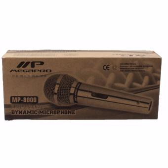 Megapro MP-8000 Dynamic Microphone (Silver) - 3