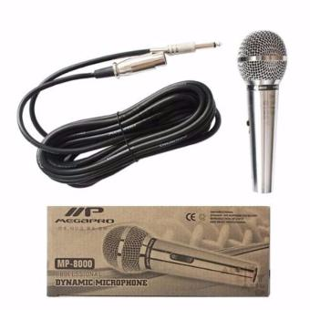 Megapro MP-8000 Dynamic Microphone (Silver) - 2