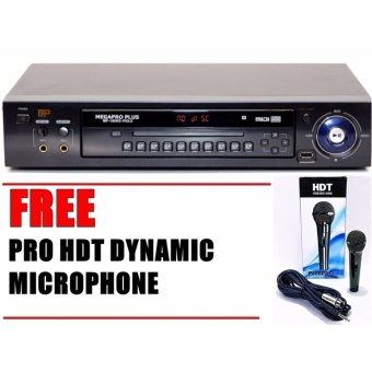 Megapro Plus MP-100NS-Piolo DVD Karaoke Player with 18000+ Songsand Free Microphone