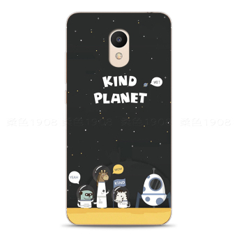 Best Buy MEIZU Japan and South Korea full edging space phone case soft Sleeve in Philippines