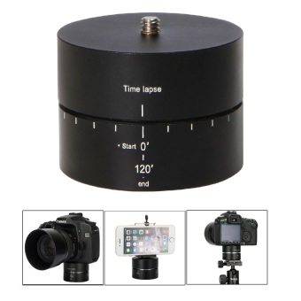 Meking Time Lapse Stabilizer 360 Degrees Panning Rotating TripodAdapter