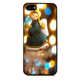 Merry Christmas Pattern Phone Case for iPhone 5C (Black) - thumbnail 1