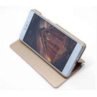 MI Flip Leather phone cover case For Xiaomi Redmi 4X(Black)  - intl - 2