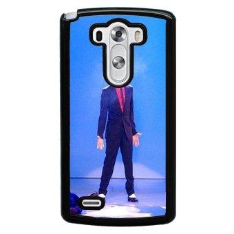 Michael Jackson Pattern Phone Case for LG G3 (Black)